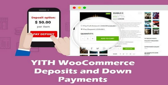 Plugin Yith WooCommerce Deposits and Down Payments - WordPress