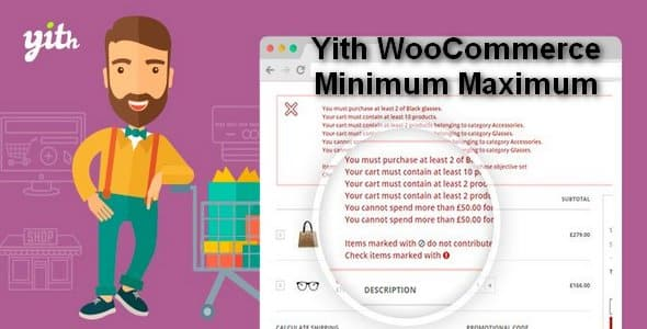 Plugin Yith WooCommerce Minimum Maximum Quantity - WordPress