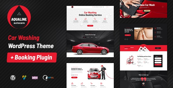 Tema Aqualine - Template WordPress