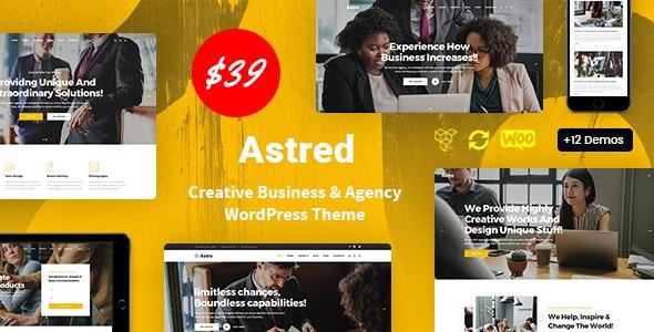 Tema Astred - Template WordPress