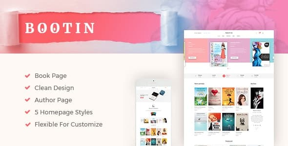 Tema Bootin - Template WordPress
