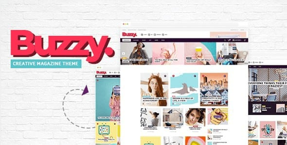 Tema Buzzy - Template WordPress