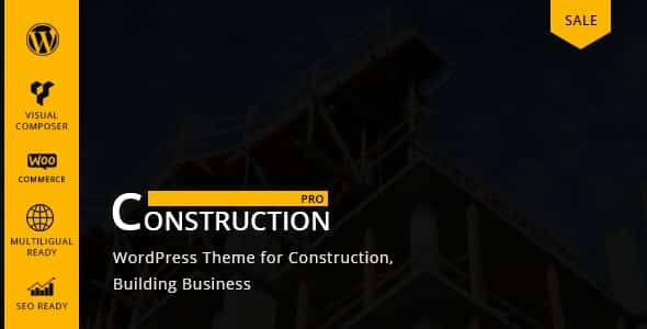 Tema ConstructionPro - Template WordPress