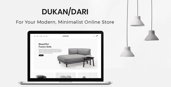 Tema Dukandari - Template WordPress