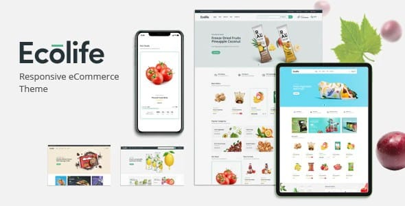 Tema Ecolife Plaza-Themes - Template WordPress