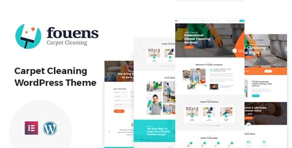 Tema Fouens - Template WordPress