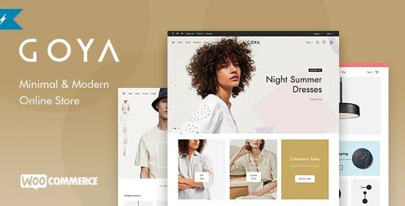 Tema Goya - Template WordPress