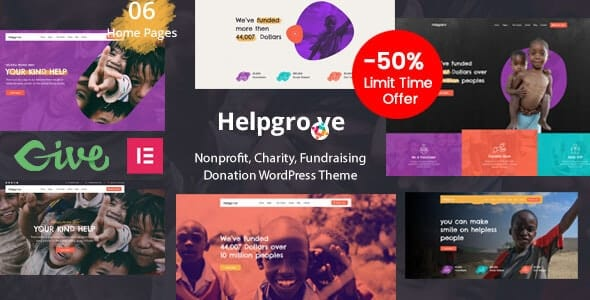 Tema Helpgrove - Template WordPress