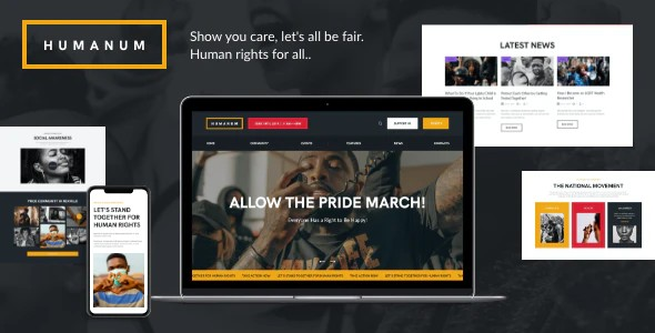 Tema Humanum - Template WordPress