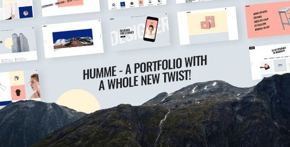 Tema Humme - Template WordPress