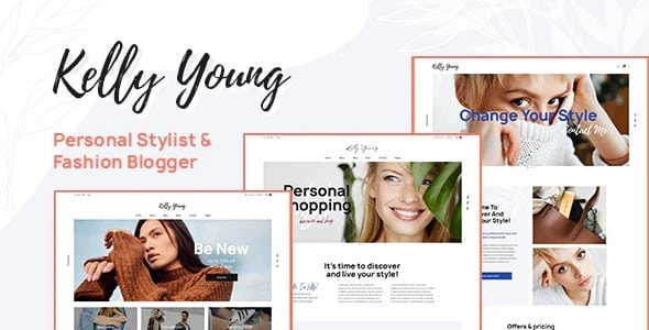 Tema Kelly Young - Template WordPress
