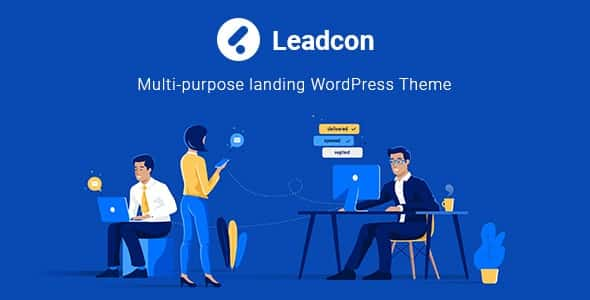 Tema Leadcon - Template WordPress