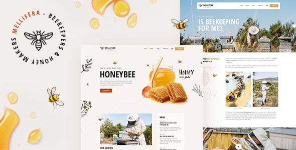 Tema Mellifera - Template WordPress