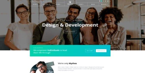 Tema Mythos Pro - Template WordPress