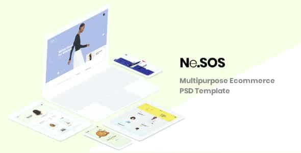 Tema Nesos - Template WordPress