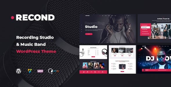Tema Recond - Template WordPress