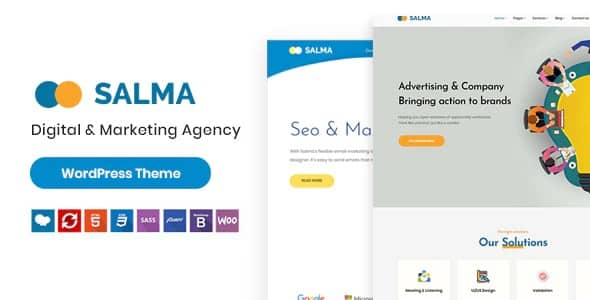 Tema Salma - Template WordPress