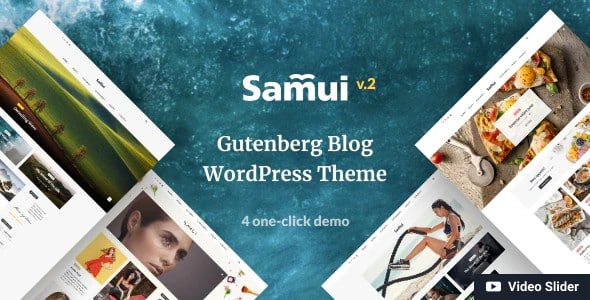 Tema Samui - Template WordPress