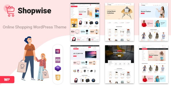 Tema Shopwise - Template WordPress