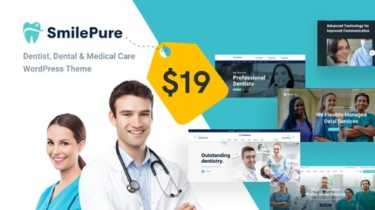 Tema SmilePure - Template WordPress