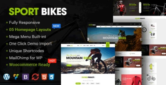 Tema Sportbikes - Template WordPress