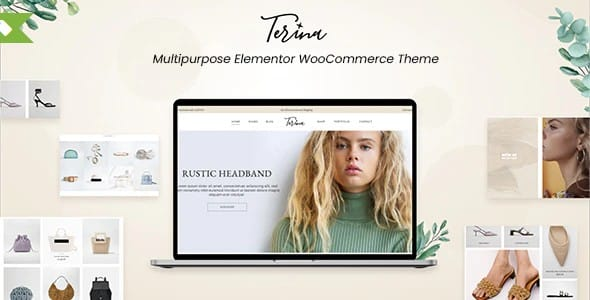 Tema Terina - Template WordPress