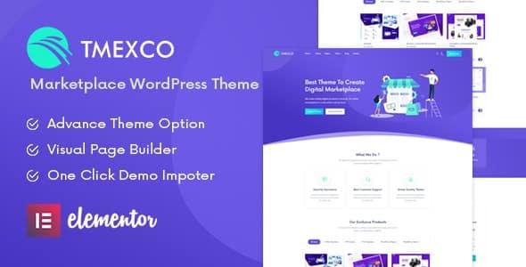 Tema Tmexco - Template WordPress