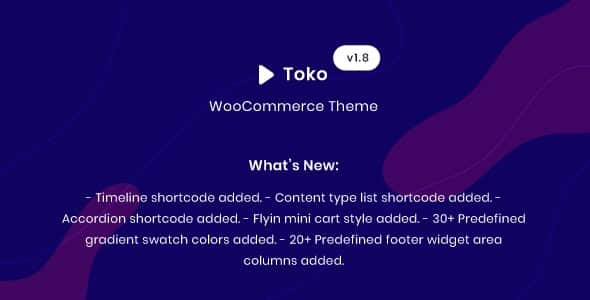 Tema Toko - Template WordPress