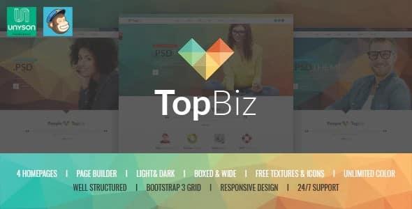 Tema Topbiz - Template WordPress
