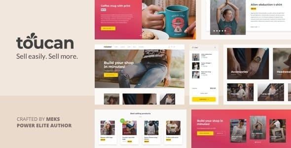Tema Toucan - Template WordPress