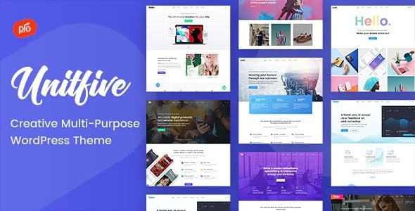 Tema Unit Five - Template WordPress
