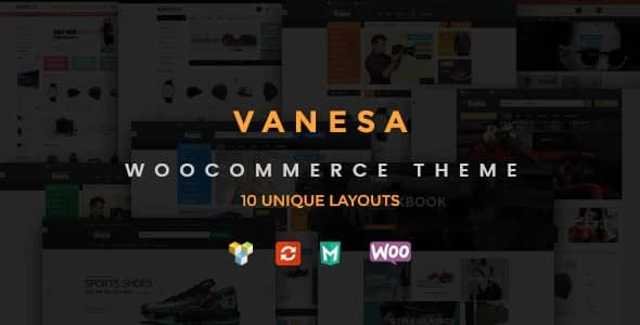 Tema Vanesa - Template WordPress