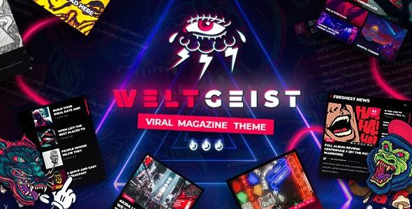 Tema Weltgeist - Template WordPress