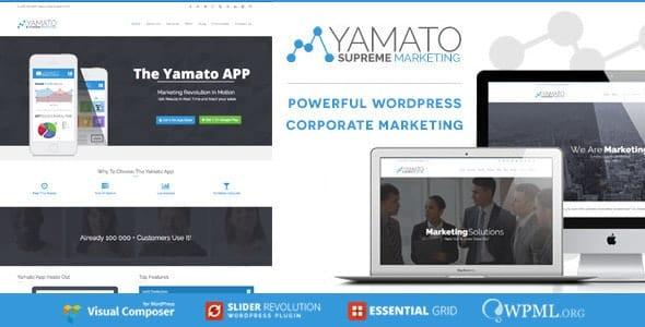 Tema Yamato - Template WordPress