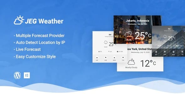 Jeg Weather Forecast - WordPress
