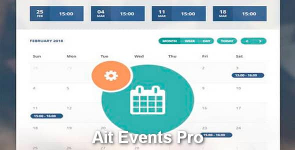 Plugin Ait Events Pro - WordPress
