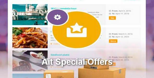 Plugin Ait Special Offers - WordPress