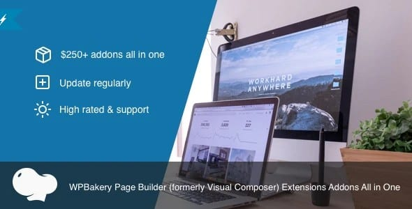 Plugin All In One Addons for WpBakery Page Builder - WordPress