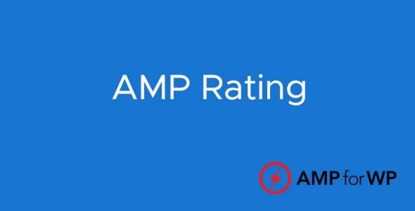 Plugin Amp Rating - WordPress