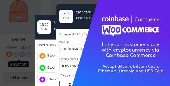 Plugin Coinbase Commerce for WooCommerce - WordPress