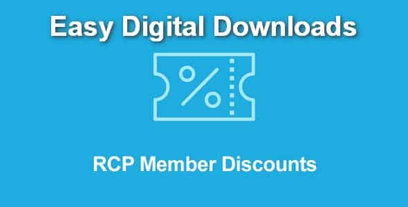 Plugin Easy Digital Downloads Restrict Content Pro Member Discounts - WordPress