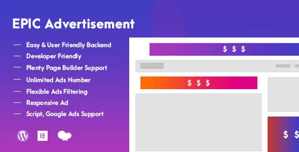 Plugin Epic Advertisement - WordPress