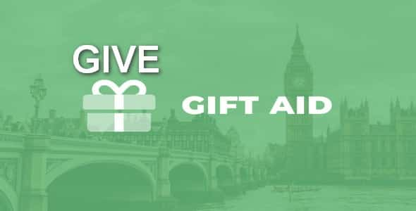 Plugin Give Gift Aid - WordPress