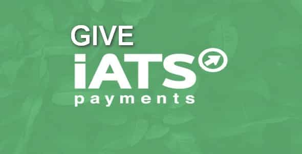Plugin Give Iats Payment Solutions - WordPress