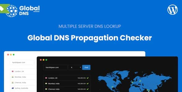 Plugin Global Dns - WordPress