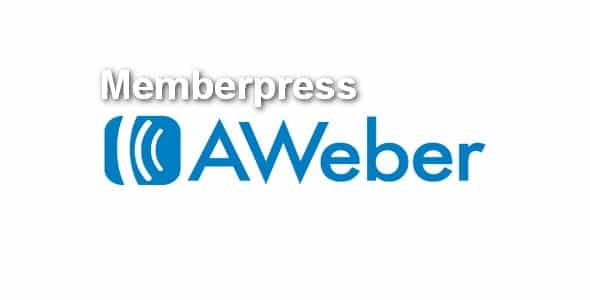 Plugin Memberpress Aweber - WordPress