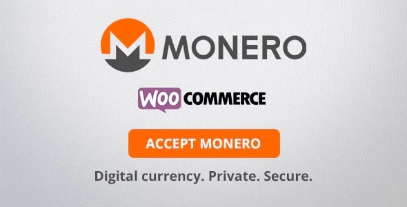 Plugin Monero WooCommerce Payment Gateway - WordPress