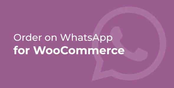 Plugin Order on WhatsApp for WooCommerce - WordPress