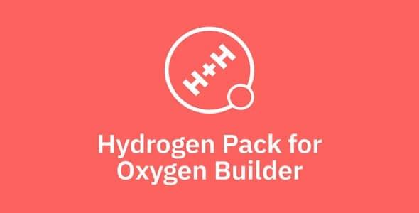 Plugin Oxygen Builder Hydrogen Pack - WordPress