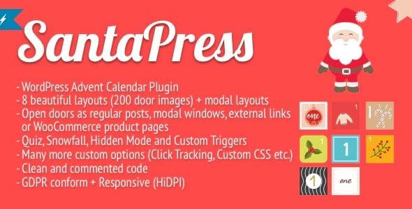 Plugin SantaPress - WordPress